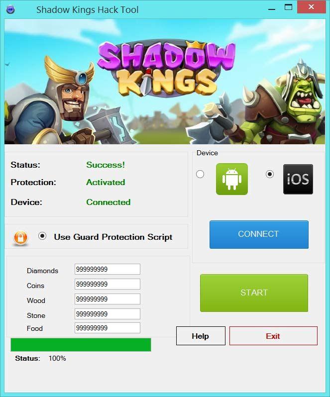 kings rush hacked