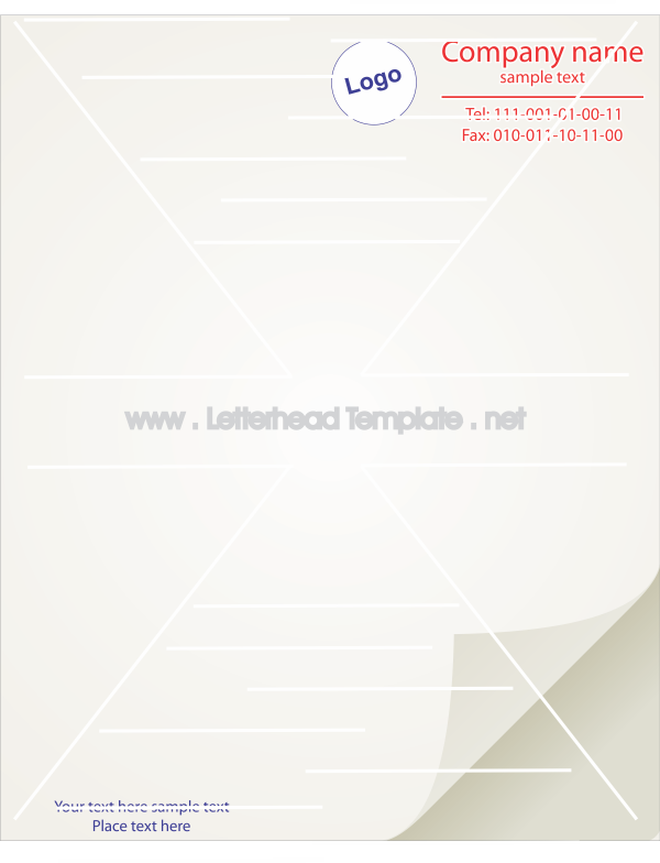 Plain letterhead template girls pinterest letterhead template plain letterhead template spiritdancerdesigns Images
