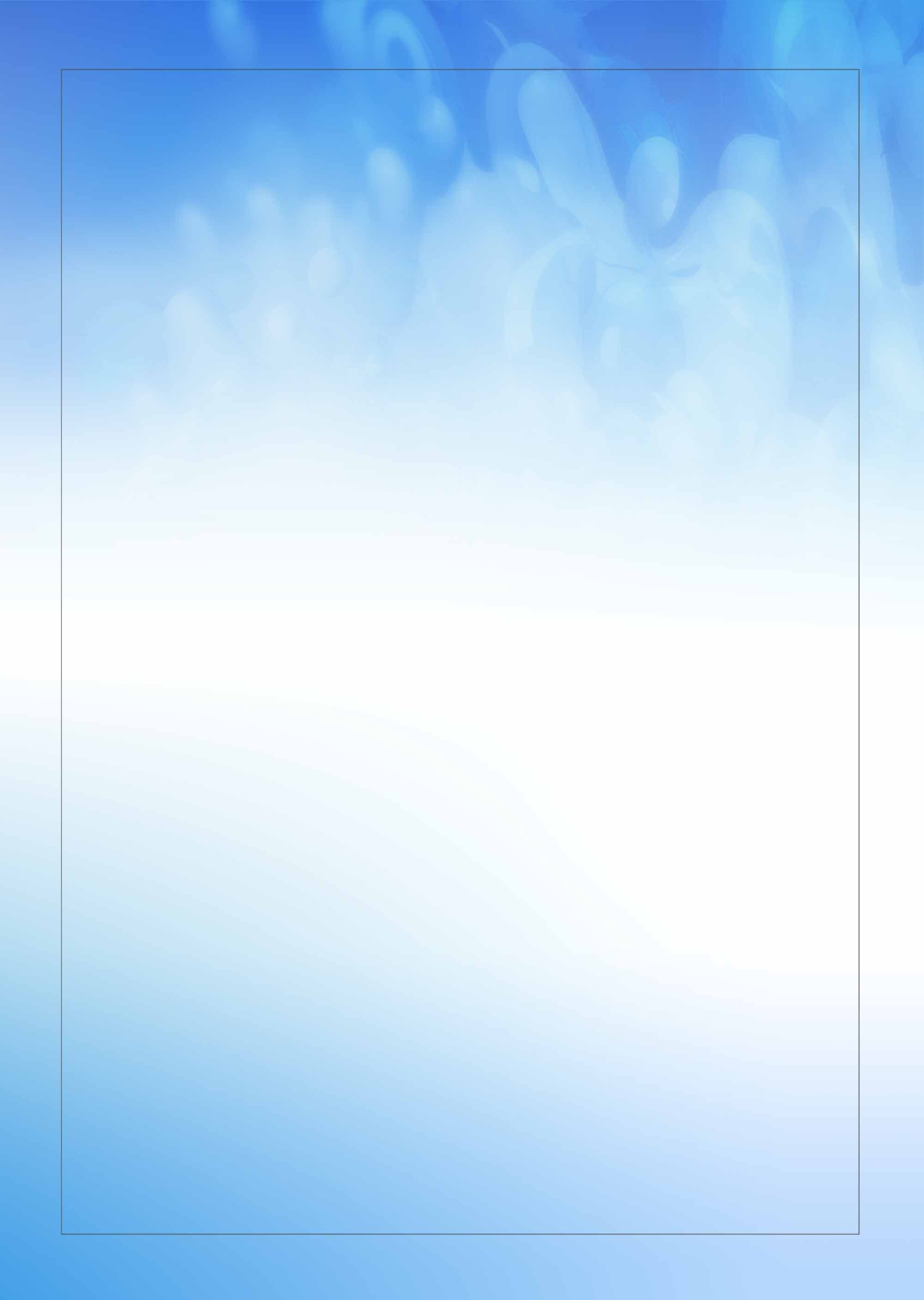 Fresh Blue Ink Watercolor Poster Background Template In 2020