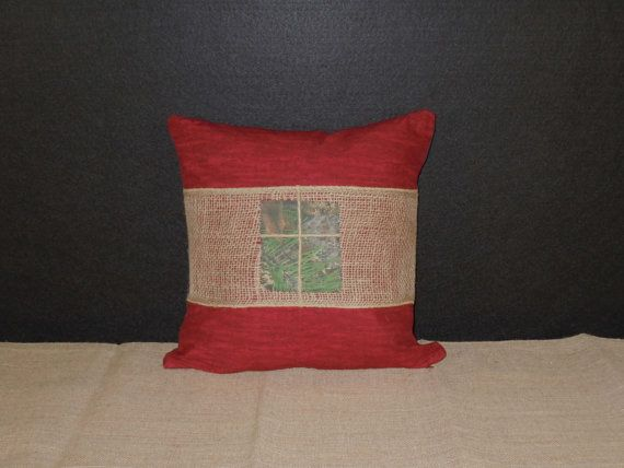 Rustic Themed Throw Pillows