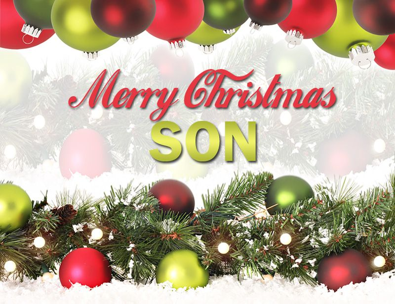 Xmas wishes for son
