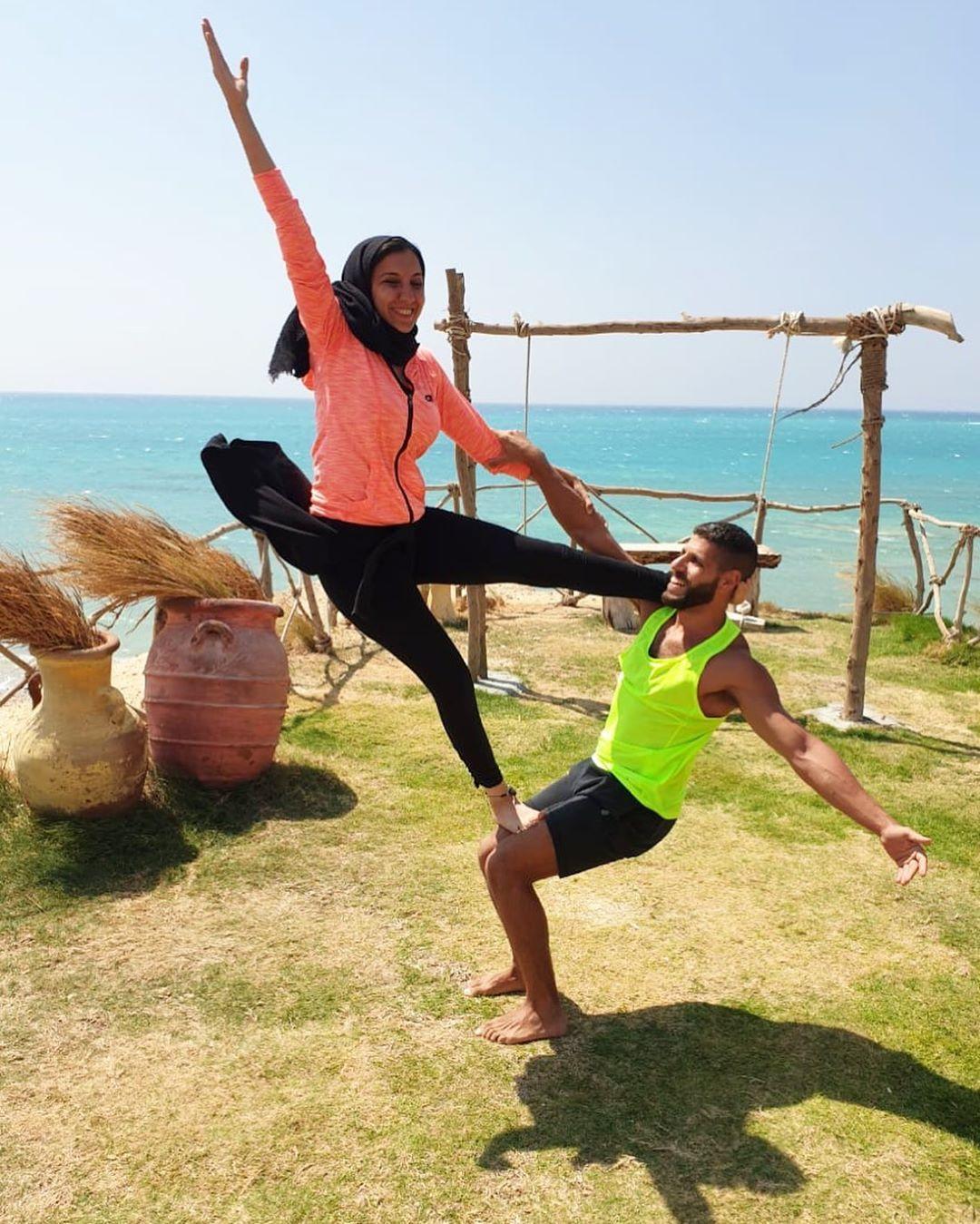 Acro yoga mate 🤸🏼♀️🤸🏼♀️🤸🏼♀️ #yoga#yogaposes#acroyoga#yogaegypt#yogagirl#yogainspiration#yogaevery...