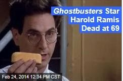 Latest News:  Ghostbusters Star Harold Ramis Dead at 69.  Egon Spengler has given up the ghostbusting. Actor and director Harold Ramis died just after midnight today, due to complications from a rare disease, his wife tells the Chicago Tribune. He was 69.  Get all the latest news on your favorite celebs at www.CelebrityDazzle.com.