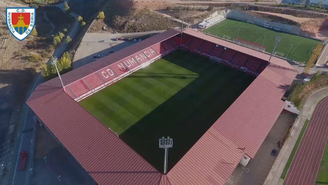 Estadio Nuevo Los Pajaritos En Soria Estadio De Futbol Estadios España