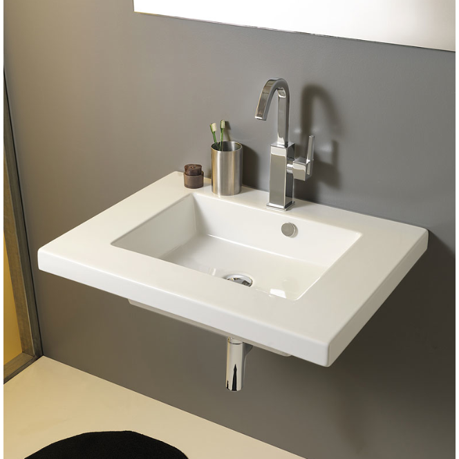 Bathroom Sinks Celerity Above Counter Vessel Sink White