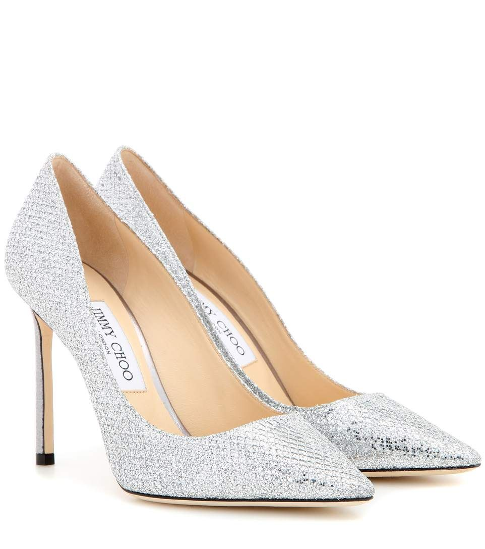 9ee7908a04a3 JIMMY CHOO Memento Romy 100 Metallic Pumps.  jimmychoo  shoes  pumps ...
