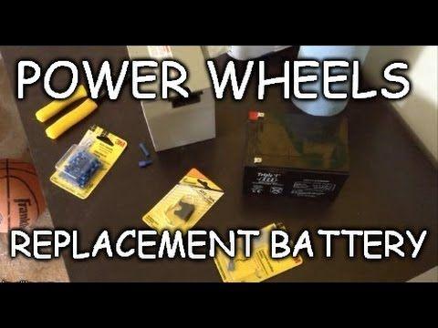 cheap 12 volt power wheel battery modification cheap and easy rh pinterest com