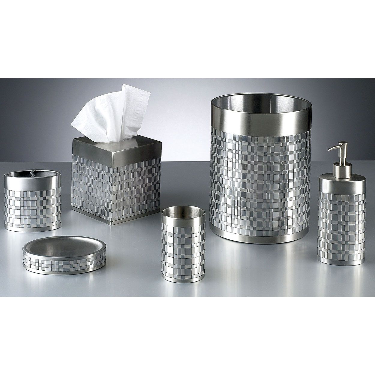 Stainless Steel Bath Accessories With