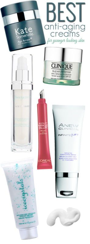 Best Anti-Aging Creams for Younger Looking Skin.