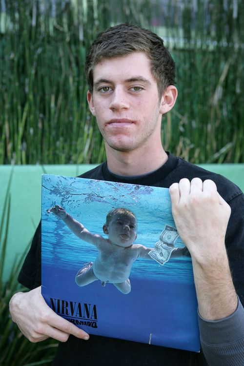 Meet 21 year old Spencer Elden also known as the baby in Nirvana's Nevermind album.