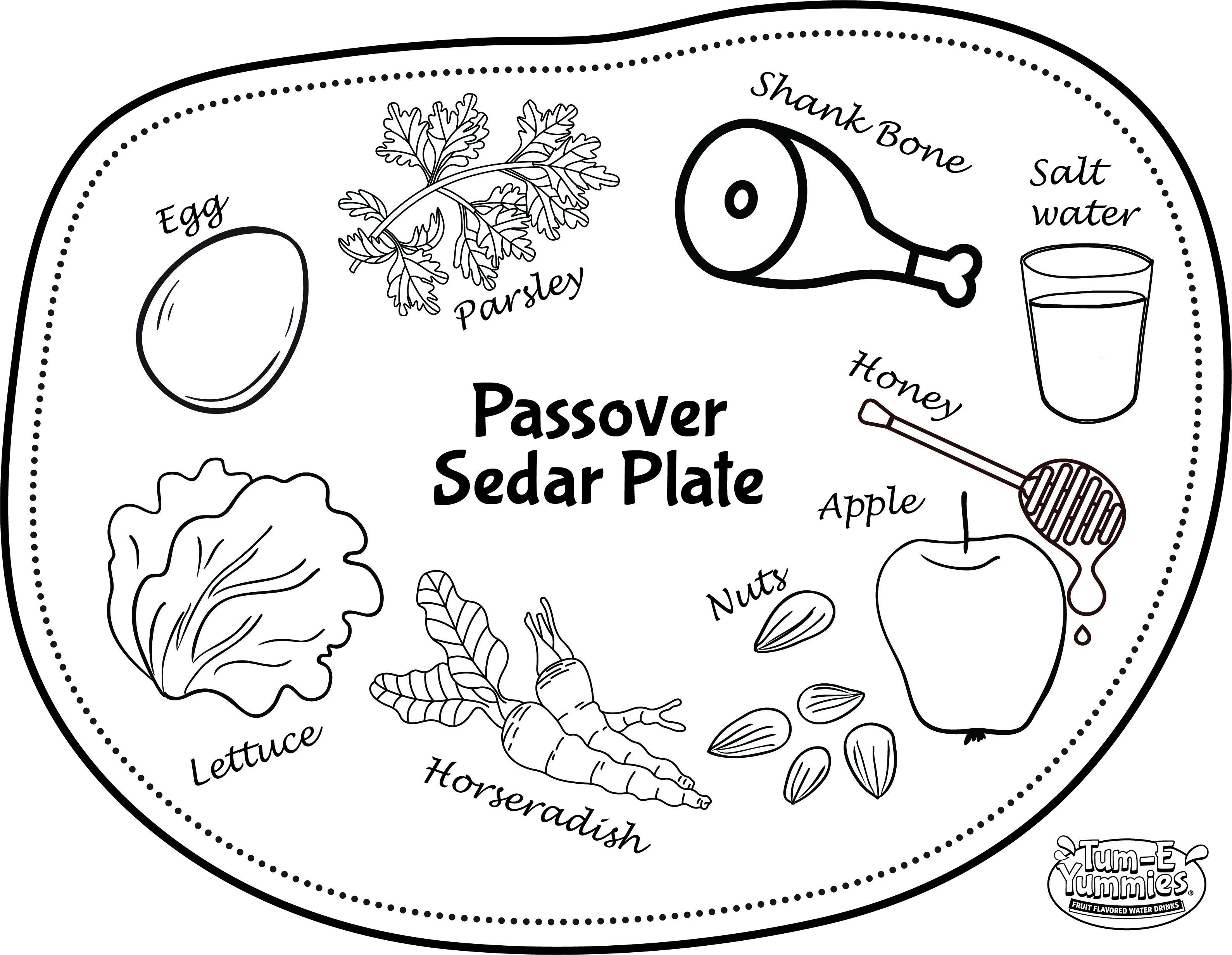Happy Passover While You Prepare Dinner Keep Your Kids Busy And Artistic With A Printable Seder Placemat Coloring Page Business For Kids Passover Seder [ 2464 x 3178 Pixel ]