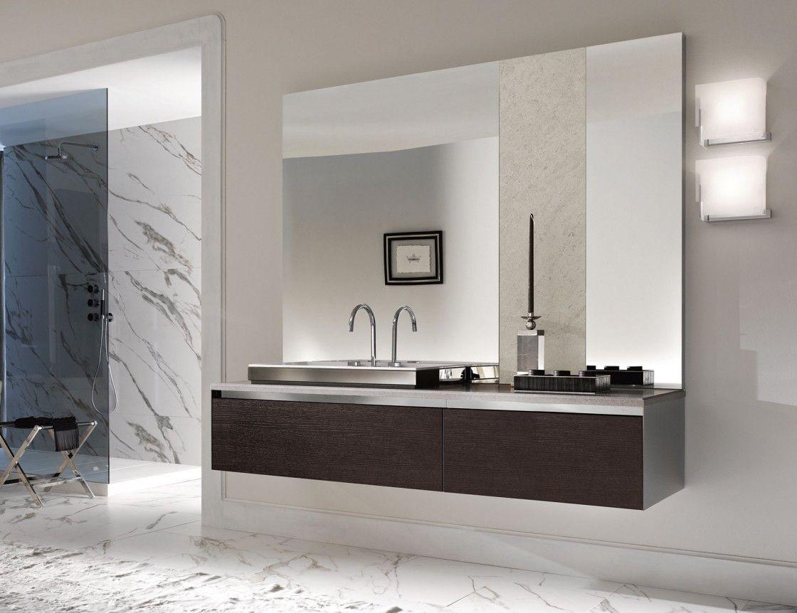 Baño Con #muebles #show De Acquabellabath #bath #bain  #baño Extraordinary Large Bathroom Vanity Mirrors 2018