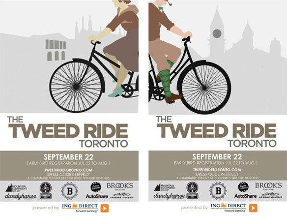 As I've written before, what draws me so much to Tweed Ride Toronto (aside from the fact that I love biking and a chance to dress up in old-timey gear) is just how accessible it is. As a supporter ...