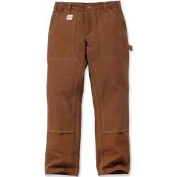 Photo of Carhartt Red Duck Double Front Work Dungaree Limited Edition Hose Braun 30 CarharttCarhartt