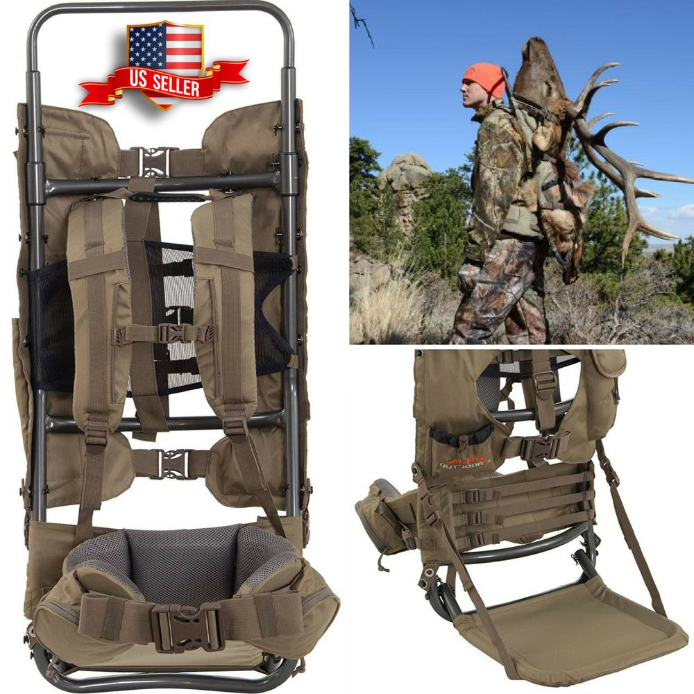 Commander Pack Bag Freighter Frame Alps Outdoorz Outdoor Hunting Camping Hiking Ebay Alps Online