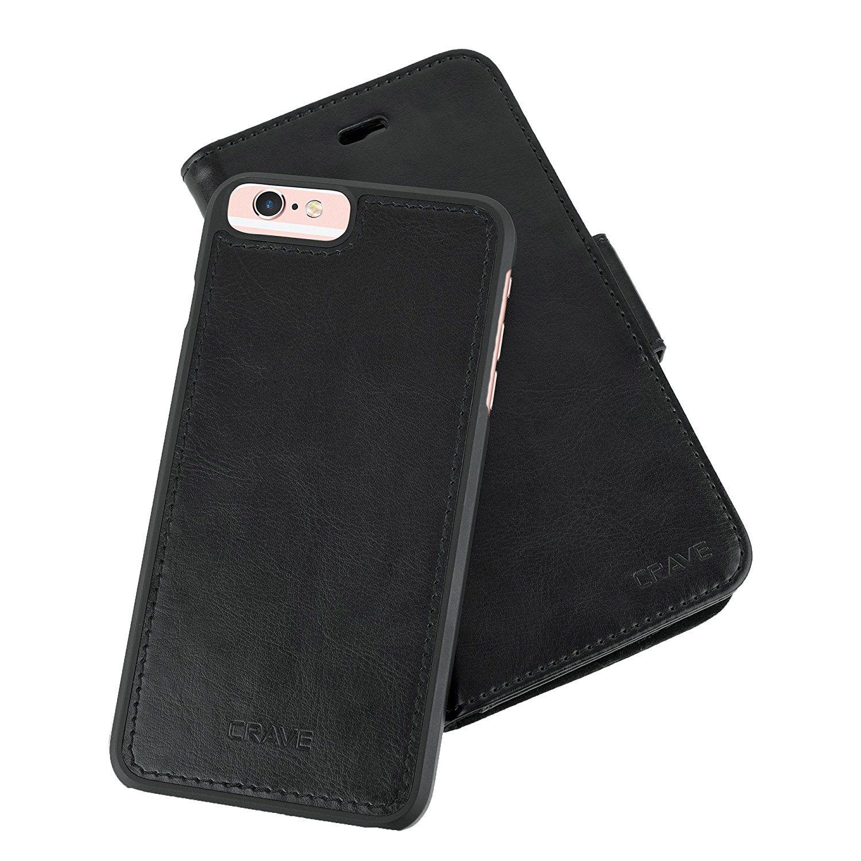 Iphone 6 6s Plus Leather Wallet Case Crave Vegan Leather Guard