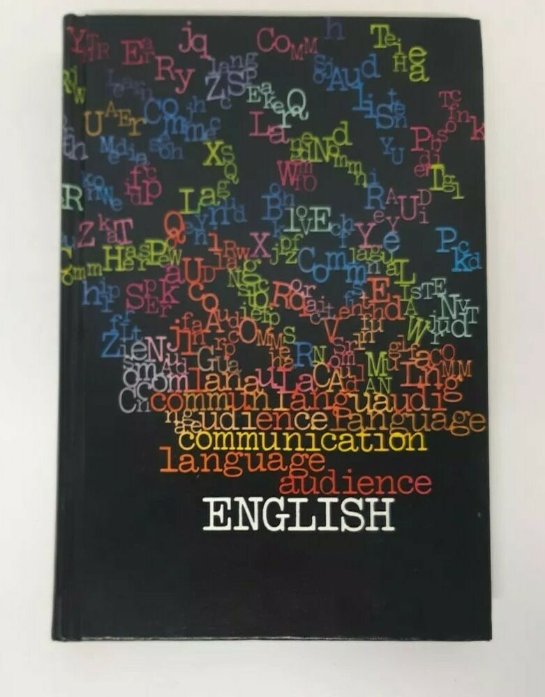 English textbook 1973 book vtg 70s writing communication