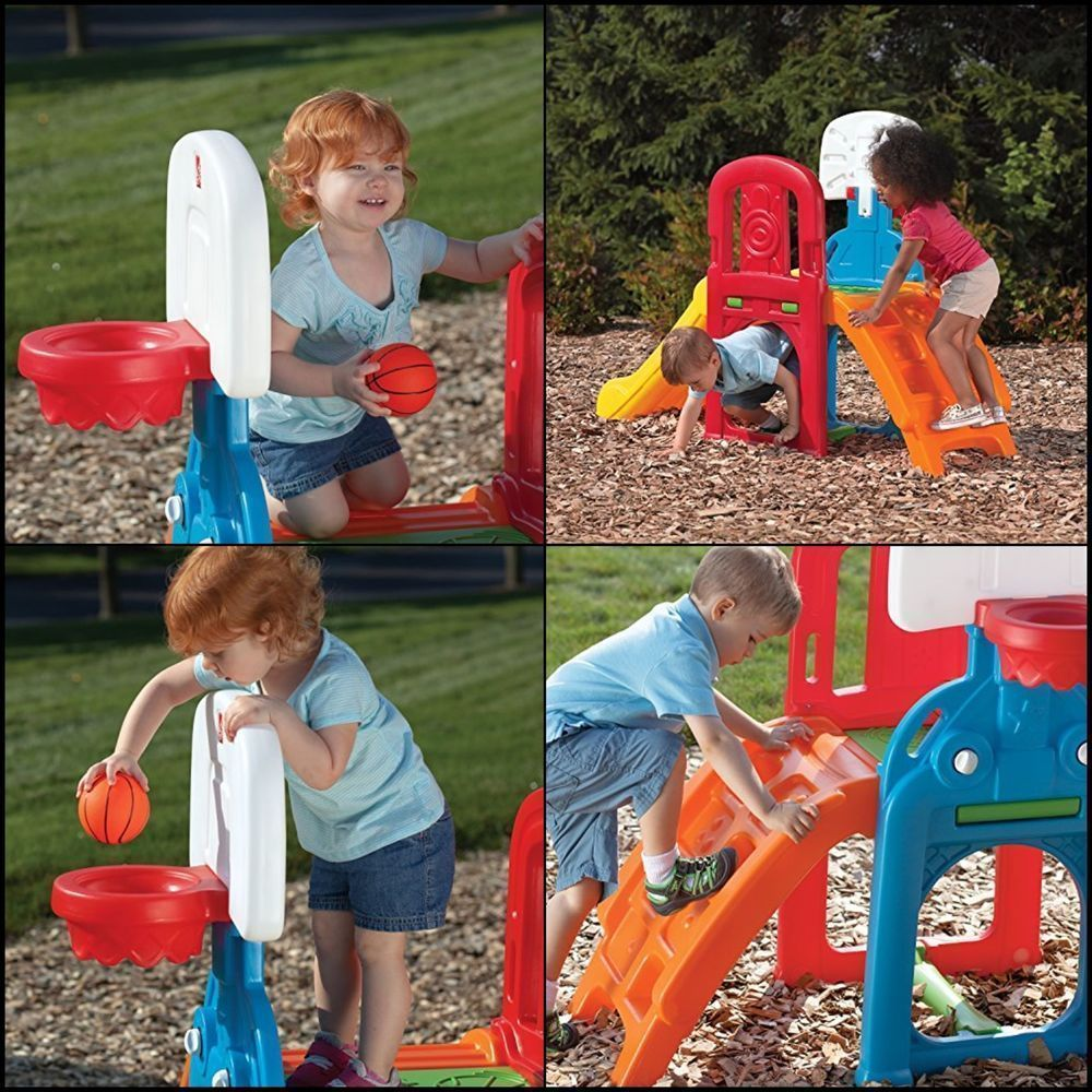Slide Game Time Sports Climber Toddler Kids Outdoor
