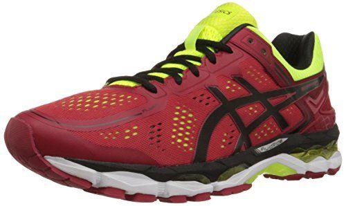 good looking on sale high fashion ASICS Men's Gel-Kayano 22 Running Shoe, Red Pepper/Black ...