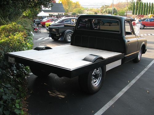 how to build a flatbed truck bed