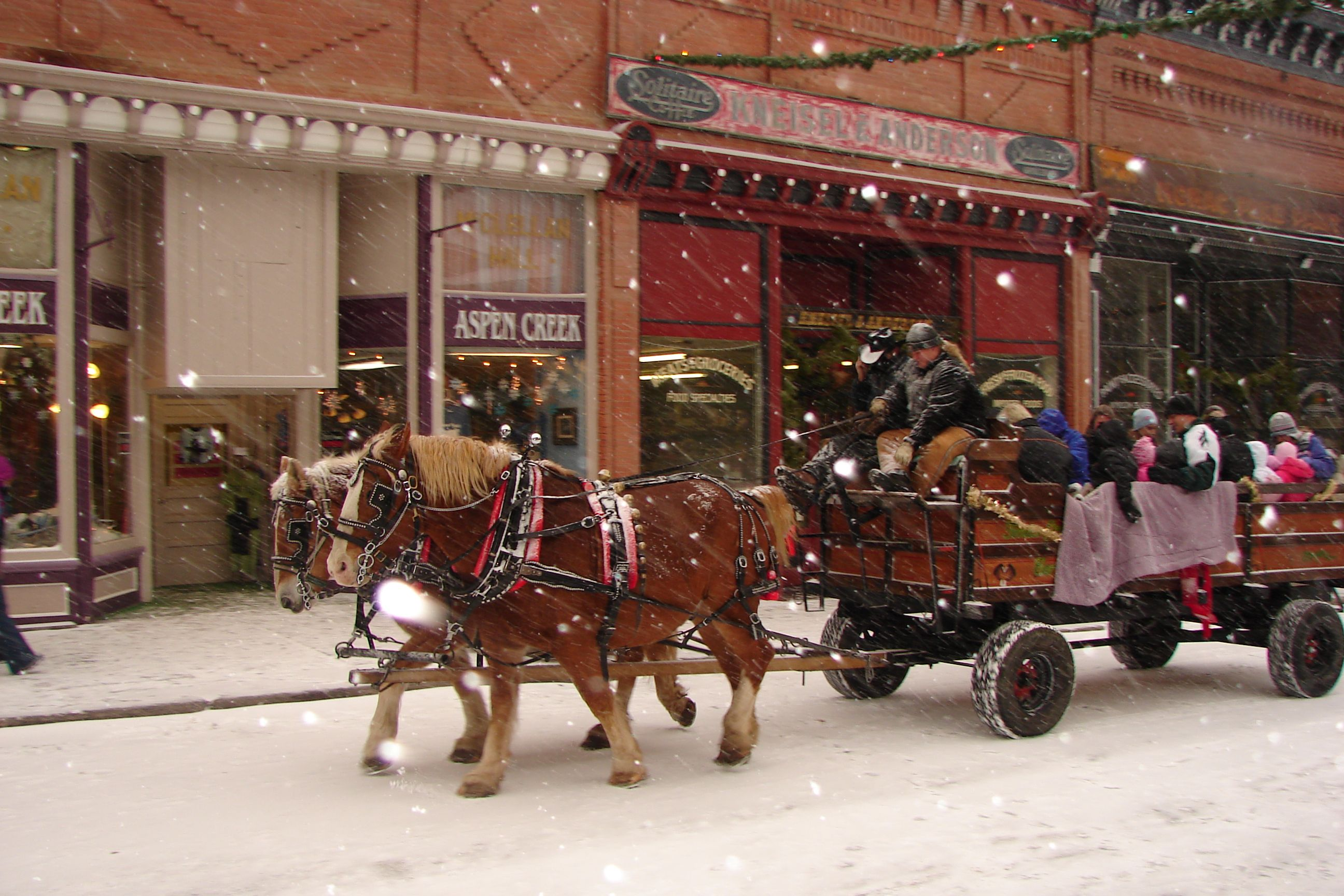 The Christmas Market it Georgetown | 2 C in Colorado | Pinterest