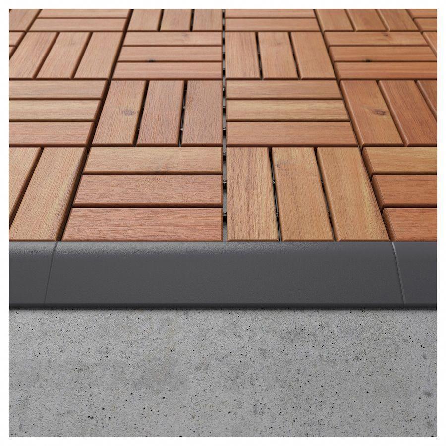 IKEA RUNNEN Edging strip, outdoor decking  Outdoor flooring, Diy