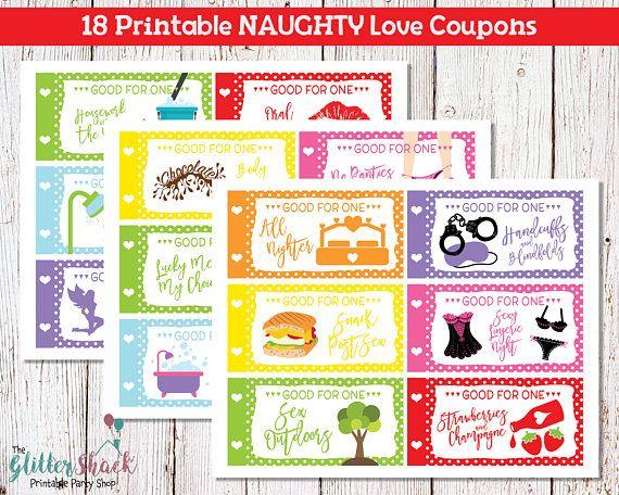printable naughty love coupons for men husband boyfriend