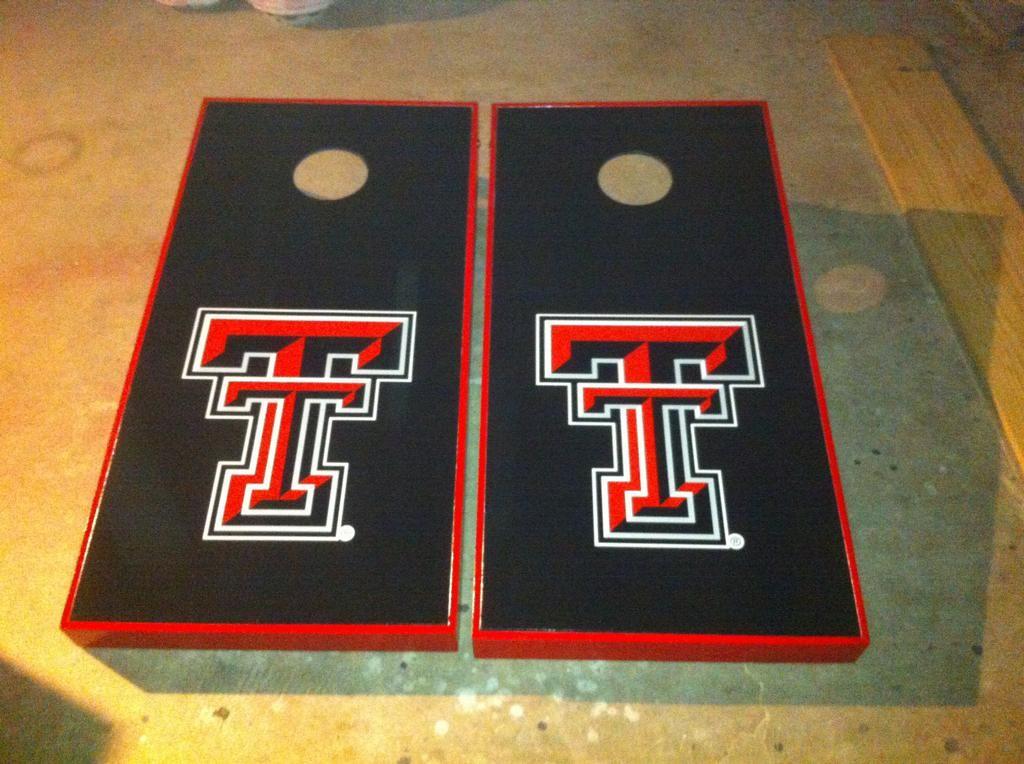 Texas Tech cornhole Texas tech red raiders