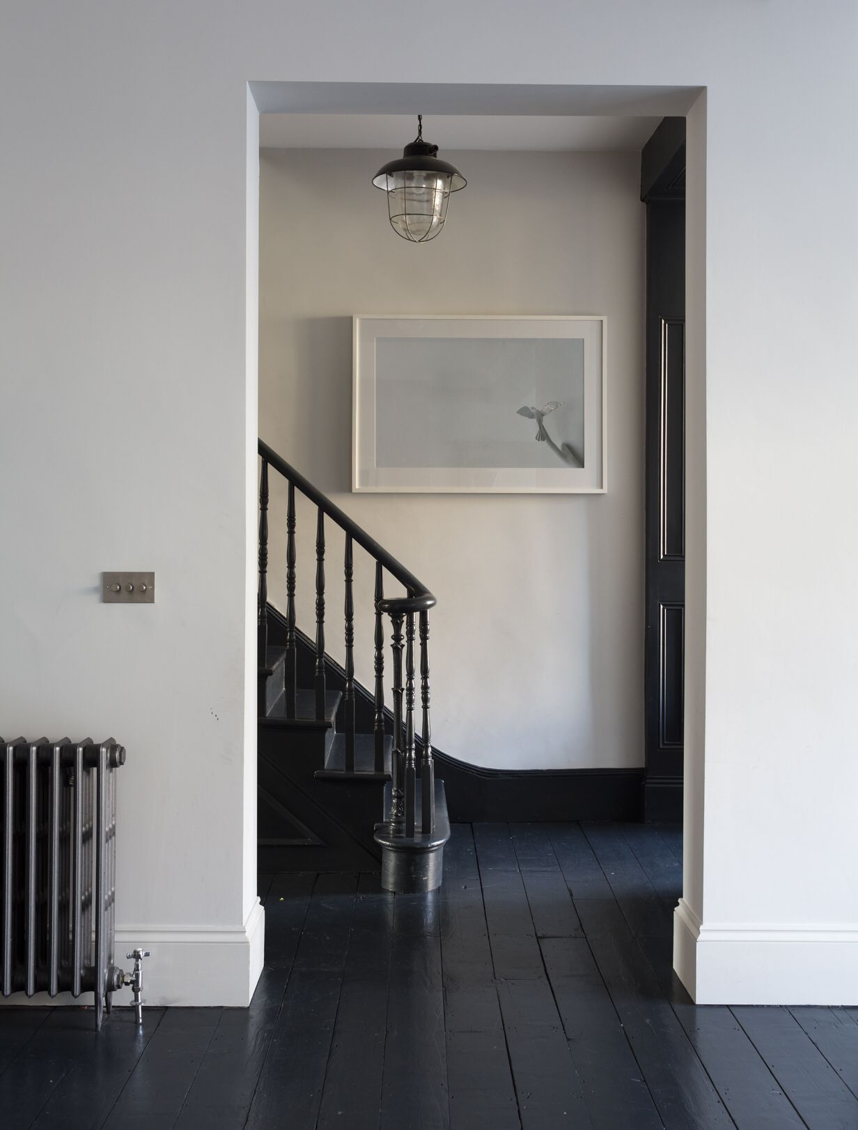 houtenvloeren#zwart   maison   pinterest   parquet, peindre et