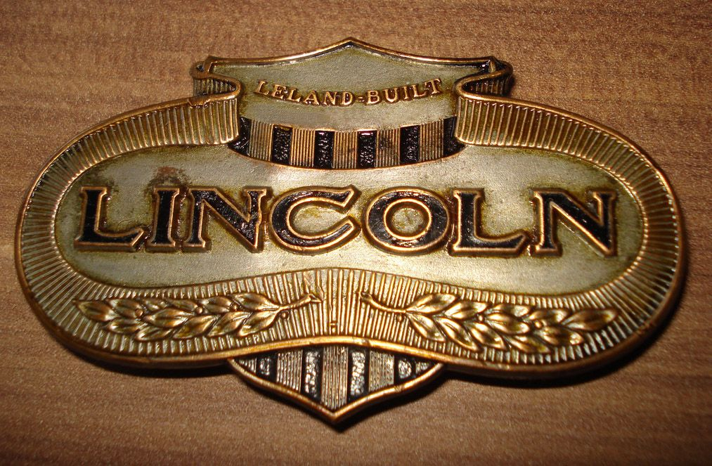 Leland Built Lincoln Emblem Before Henry Ford Bought The Company