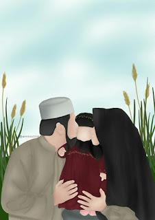 Keluarga Muslim Png : keluarga, muslim, Kumpulan, Kartun, Romantis, Muslim, Fashion,, Couples,, Couple, Photography