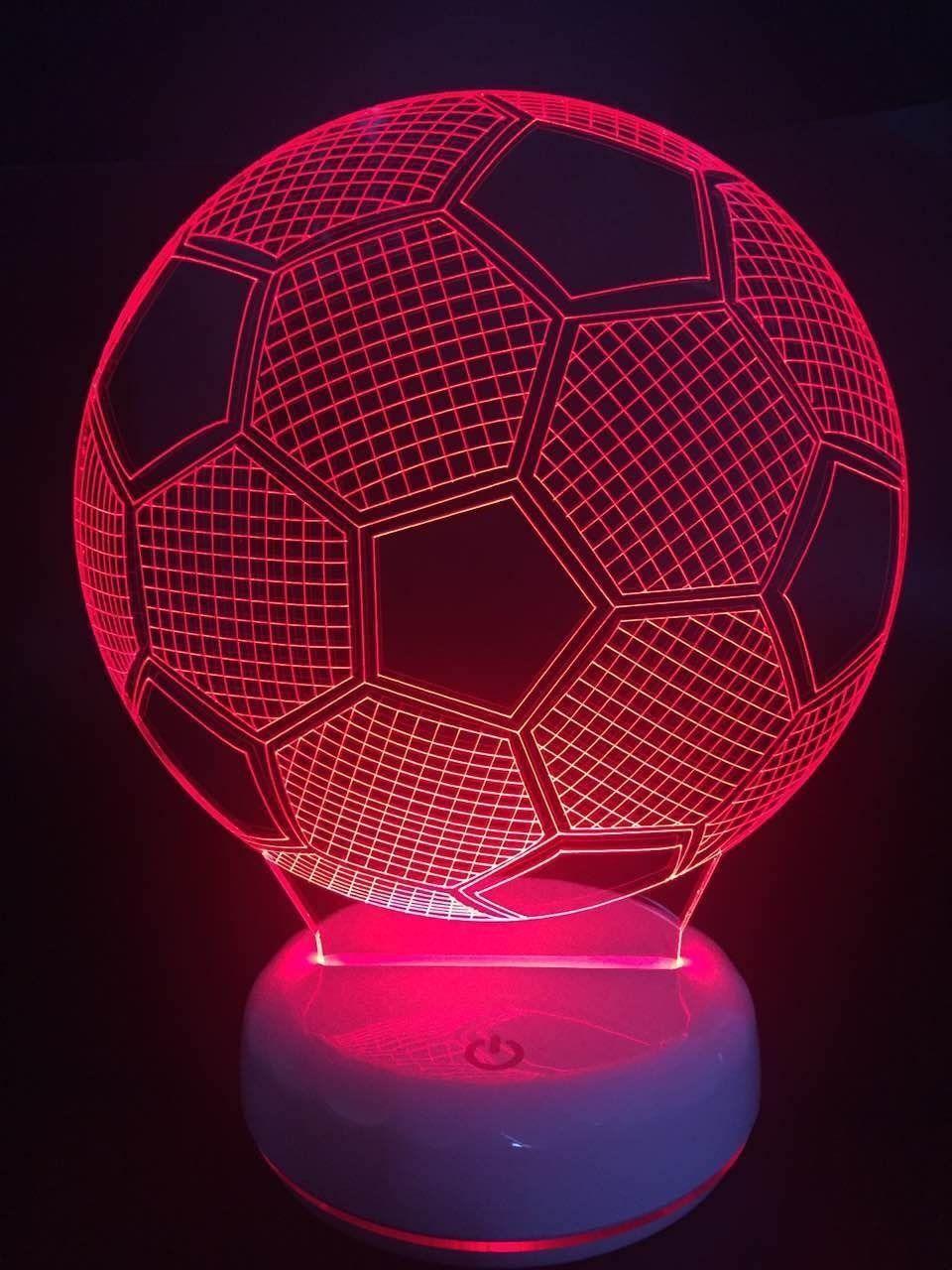 Led Fussball Lampe Fussball Wm 2018