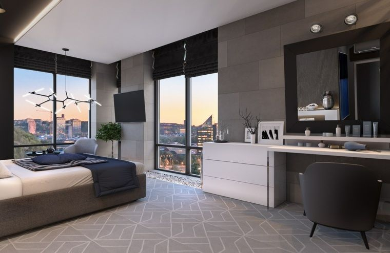 Chambres à coucher de design fascinant et dynamique Interiors