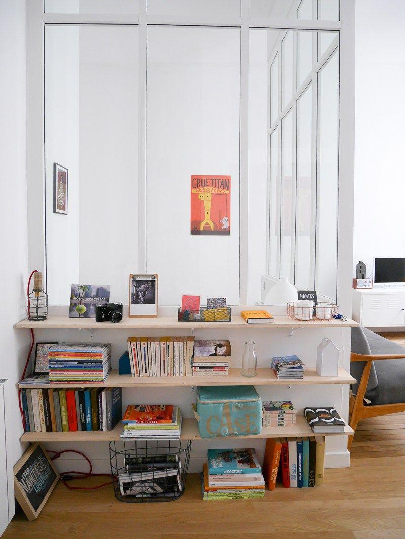 un joli appartement nantes little pommeraye room ideas pinterest nantes interiors and. Black Bedroom Furniture Sets. Home Design Ideas