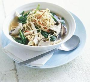 Healthy Chicken Noodle Broth
