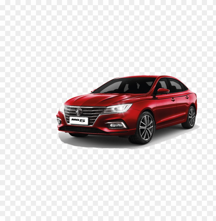 Mg5 Red Car Png Image With Transparent Background Png Free Png Images Red Car Car Red
