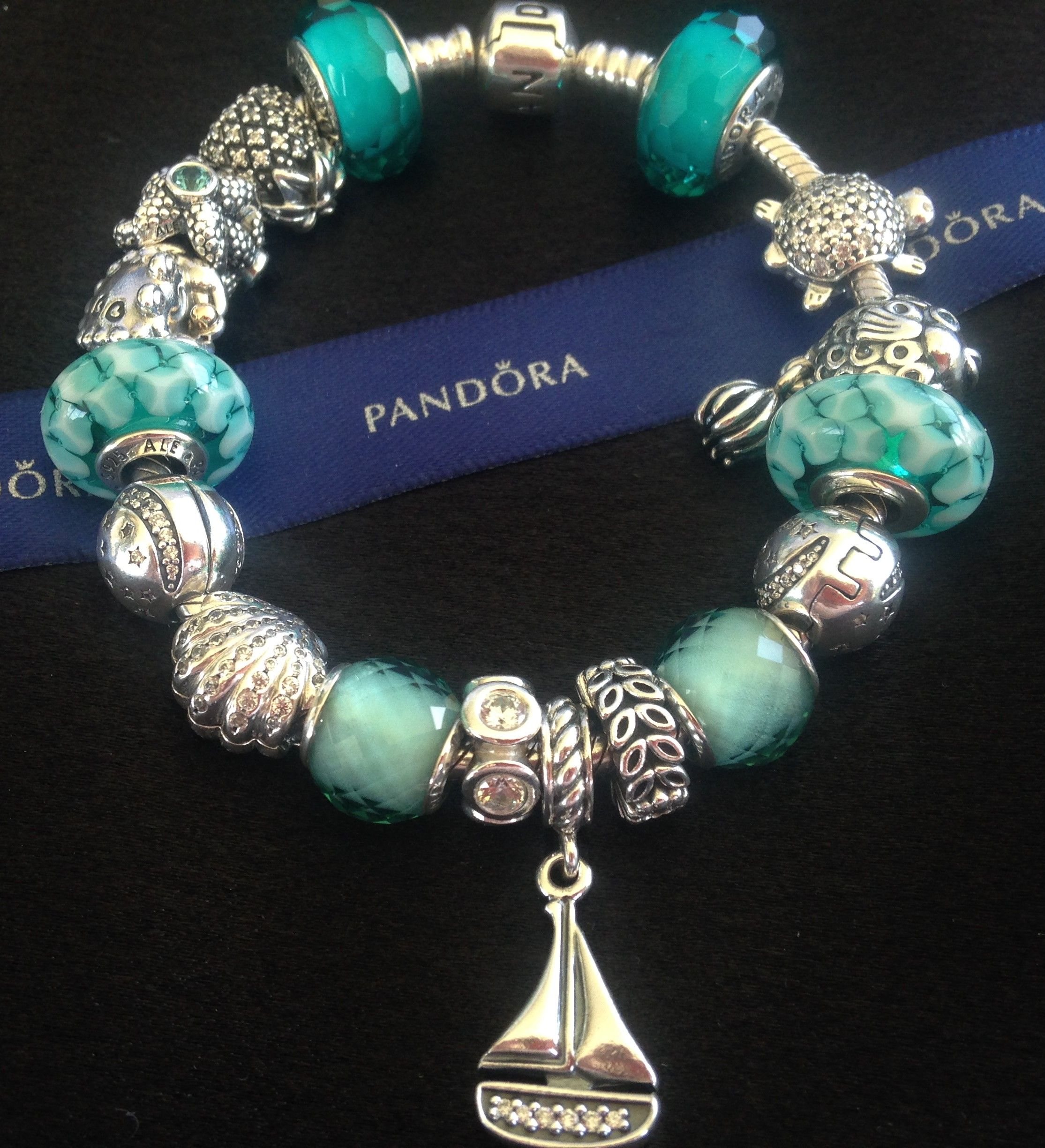 3 week t digim Cannot wait for the beach Pandora Teal