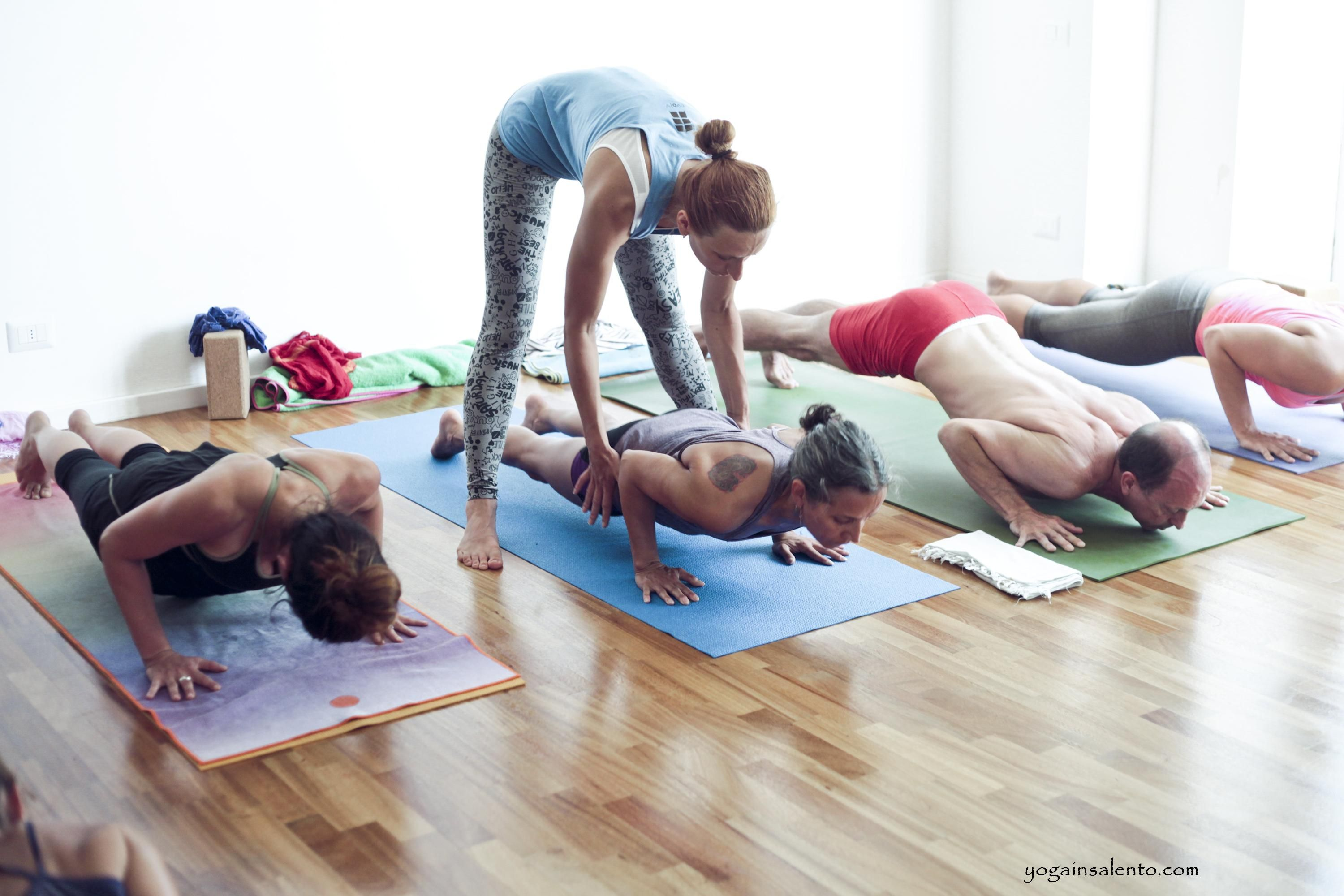 our students at the Ashtanga yoga teacher training with ...