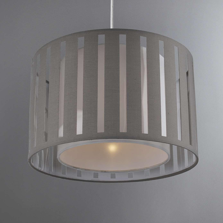 Ellon 30cm Drum Grey Shade Grey Light Shades Grey Lamp Shades Bedroom Ceiling Light