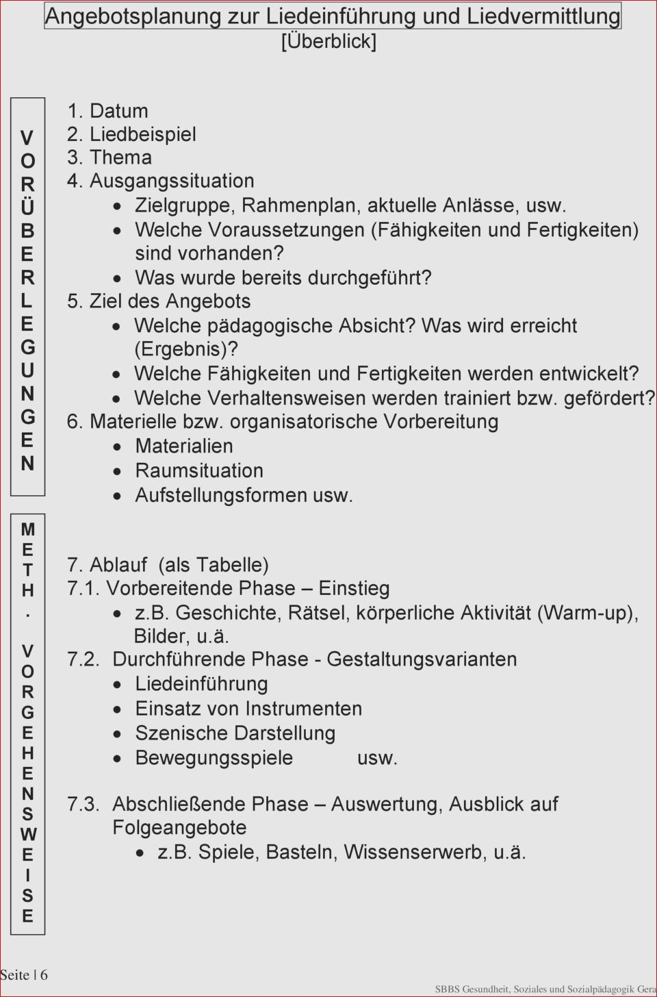 31 Im Trend Schriftliche Planung Eines Angebotes Im Kindergarten Design Ideen Angebote Rahmenplan Kindergarten