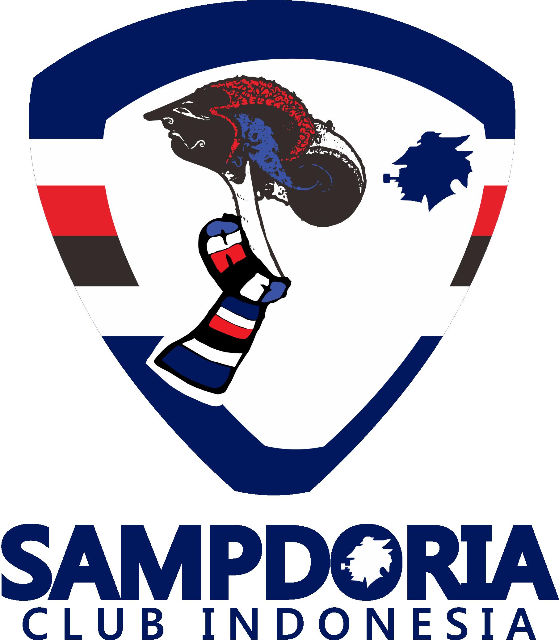 logo sampdoria club indonesia indosamp forza sampdoria
