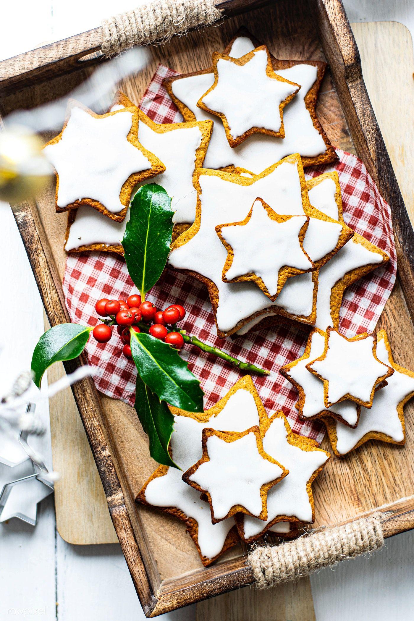 Download premium photo of Star gingerbread cookie recipe