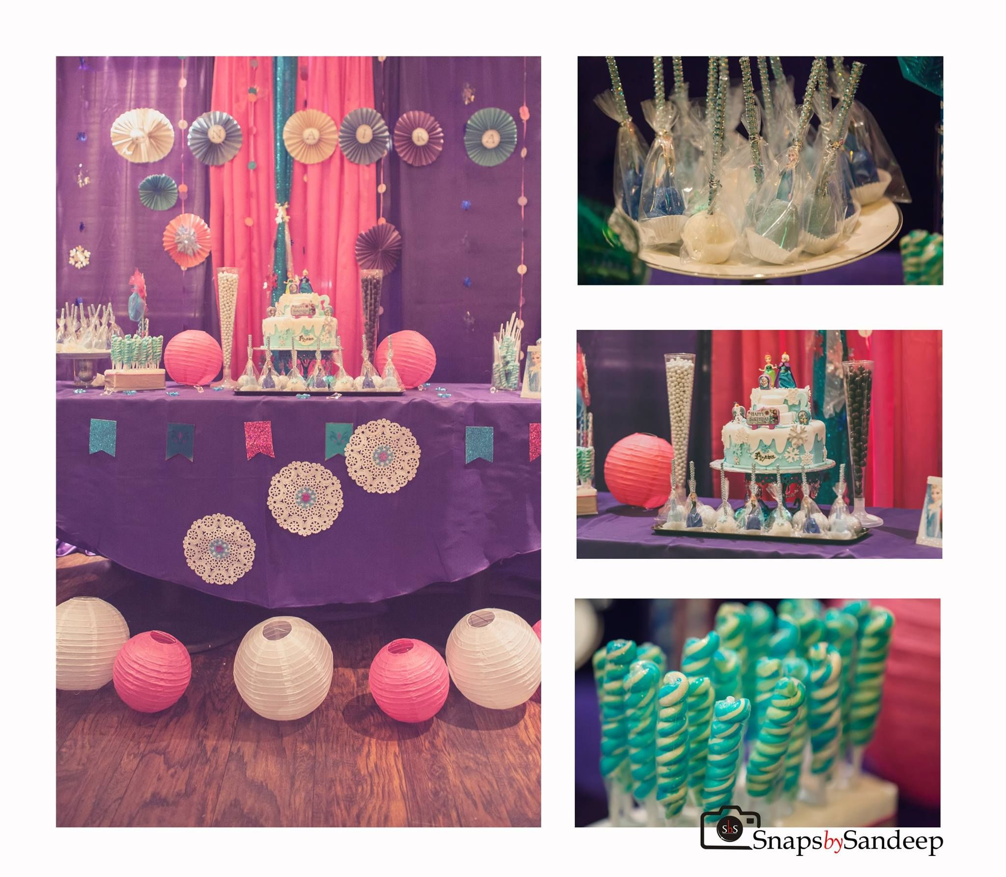 Aasna Melange Of India Frozen Theme Party Birthday Party Decorations Party Themes