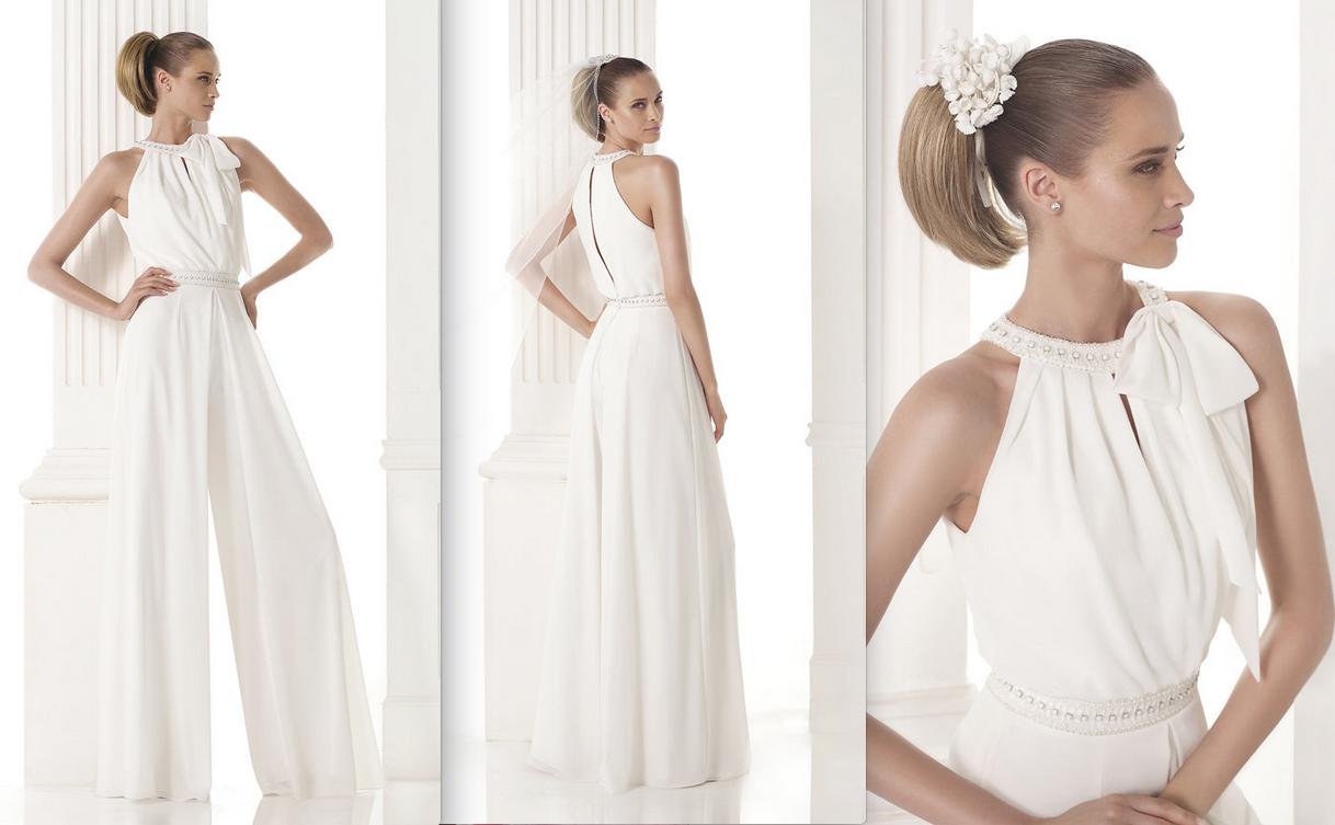MERLINA Colección Modern Bride Nuestro modelo para novias efecto dos ...