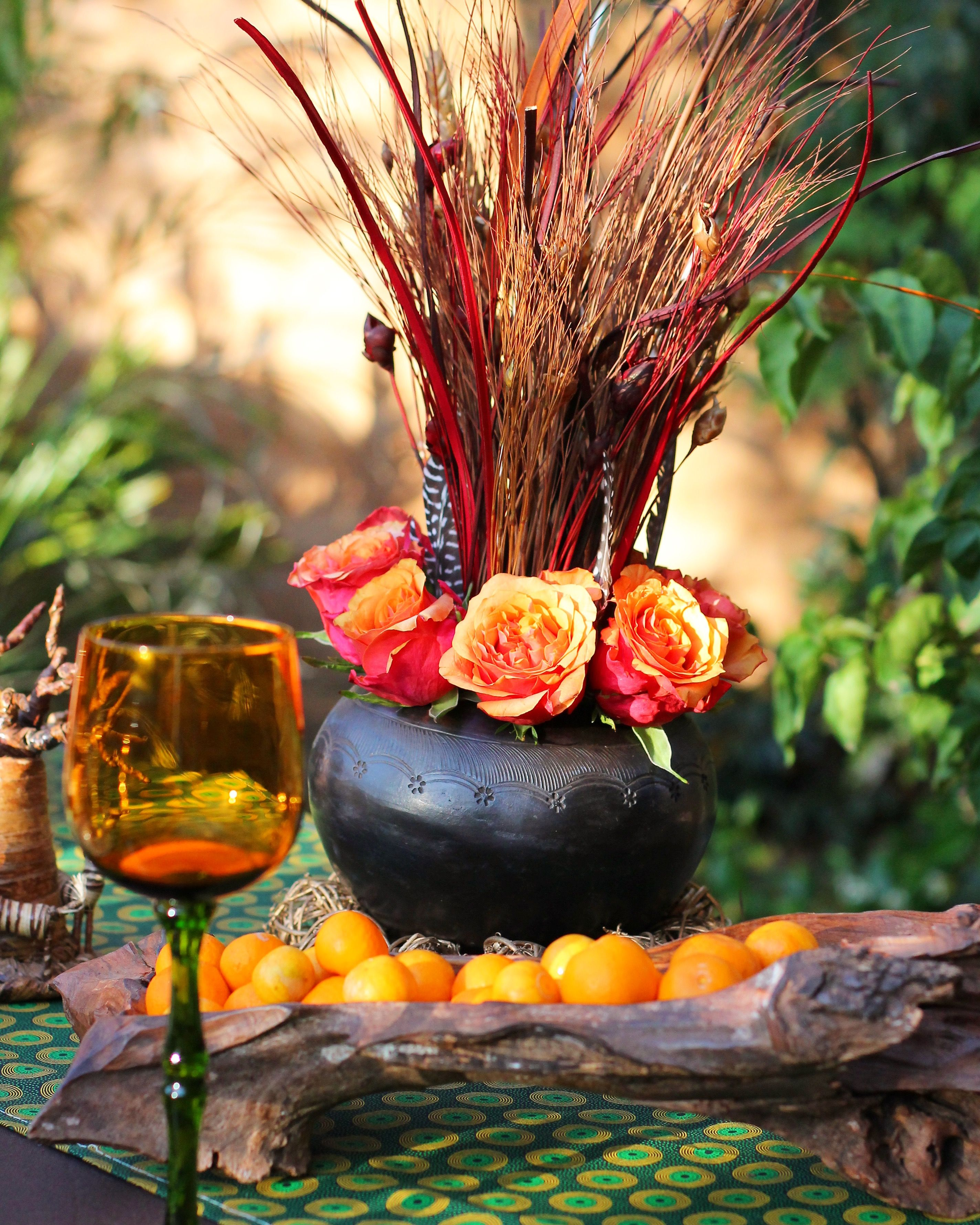 African decorating ideas for wedding