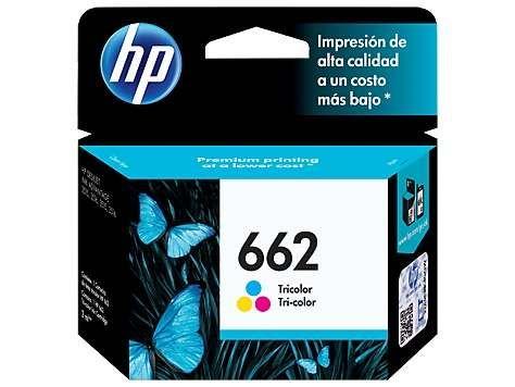 Cartucho 662 Hp Color Cz104al Bs 28000 Cartuchos De Tinta Tinta