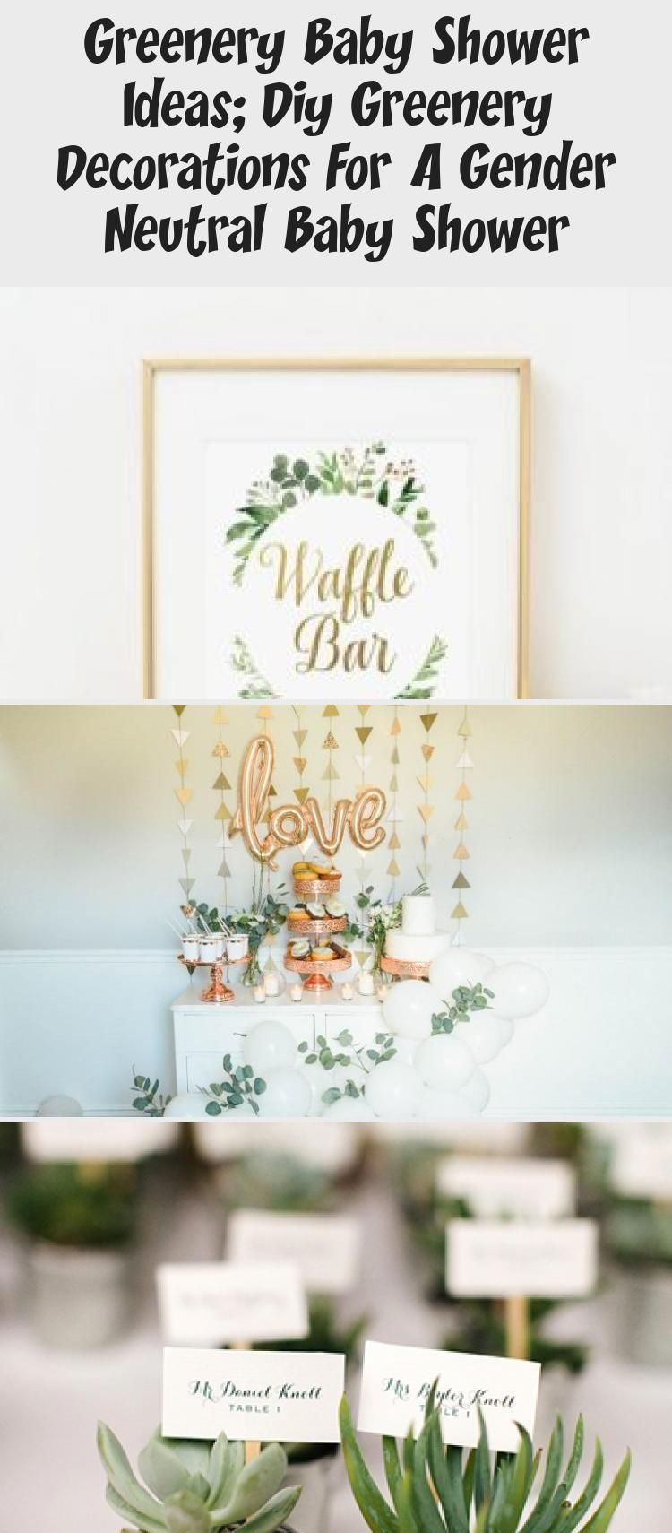 Ideas For Baby Shower In The Green Green Diy Decorations For A