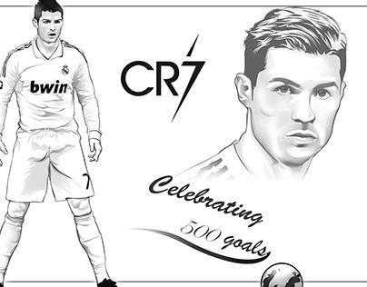 Check Out This Behance Project Quot Cr7 Vector Vecxel Quot Https