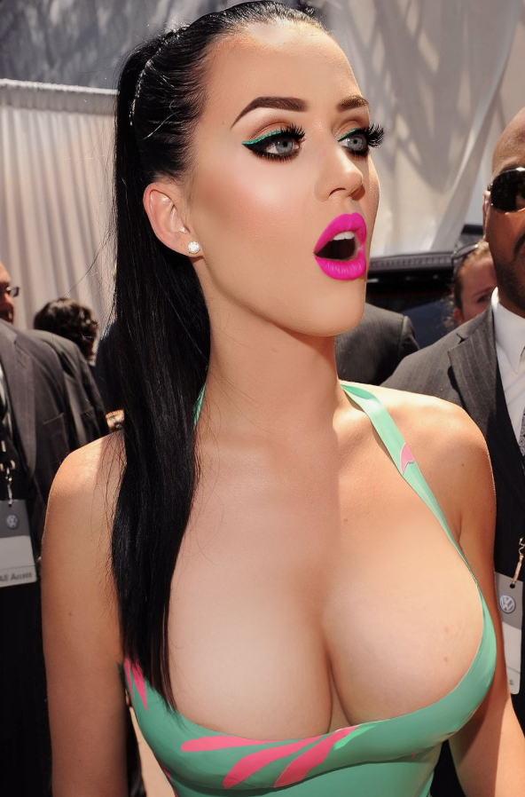 Katy perry tits real