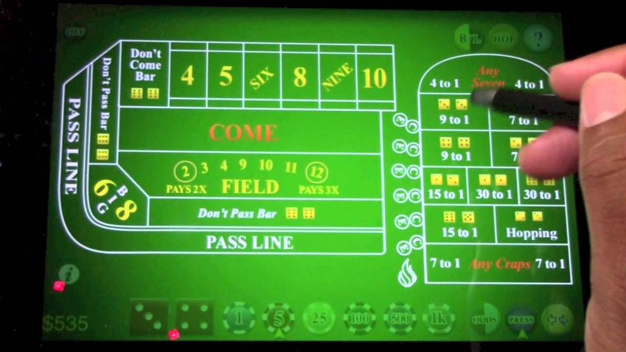 How to win at craps strategy 2 more aggressive bigger